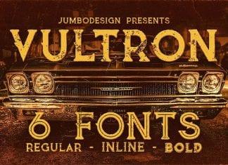 Vultron Vintage Style Font