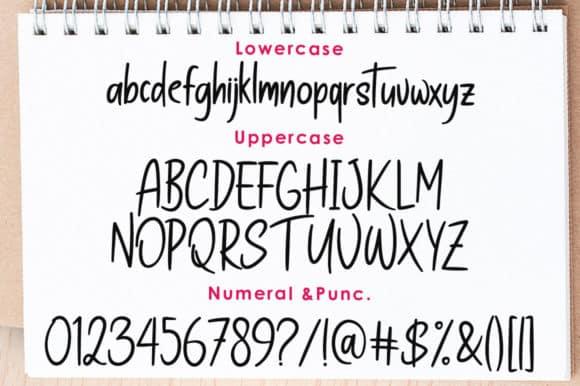 Wanthy Font
