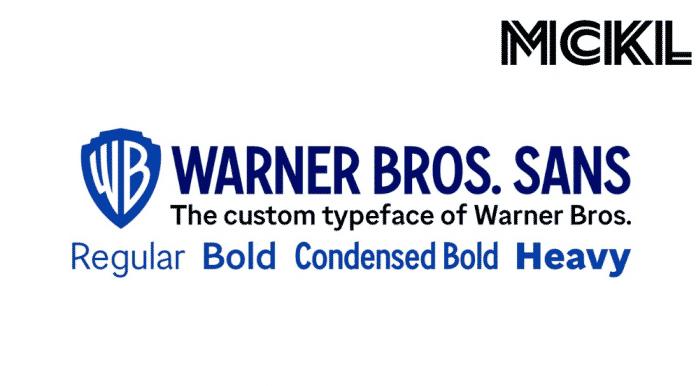 Warner Bros Sans font family