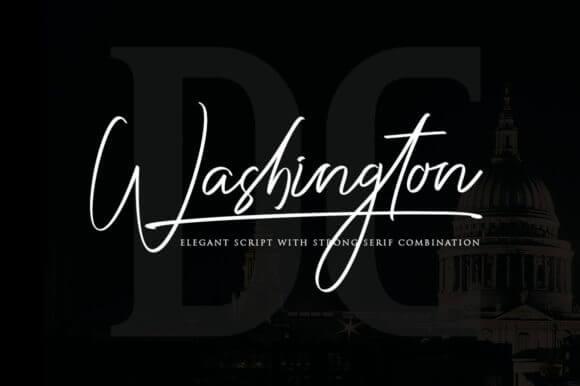 Washington Duo Font