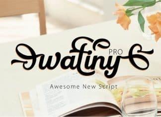 Watiny Pro Font