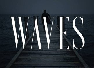 Waves Ultra Condensed Serif Font