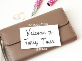 Welcome to Funky Town Font
