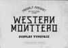 Western Monttero Font