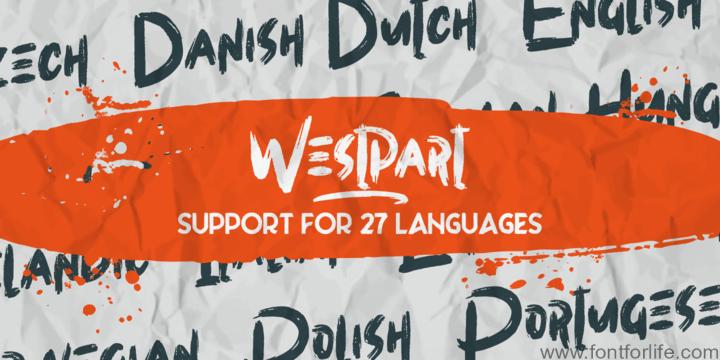 Westpart Font