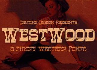 Westwood Funny Western Font