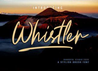 Whistler Font