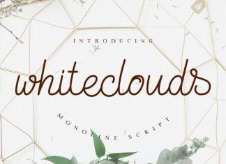 Whiteclouds Monoline Script Font