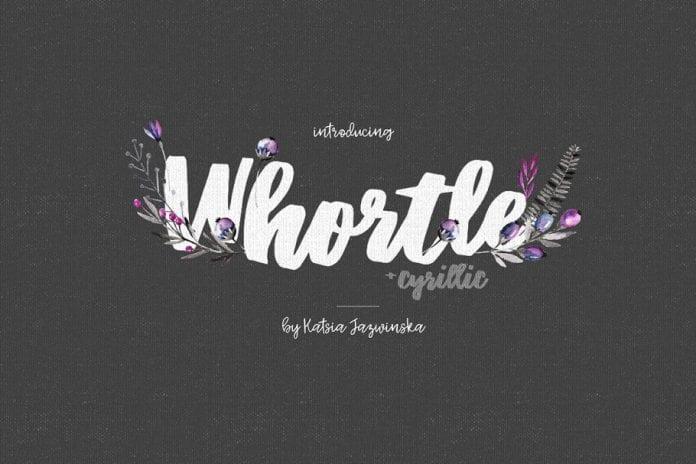 Whortle Font