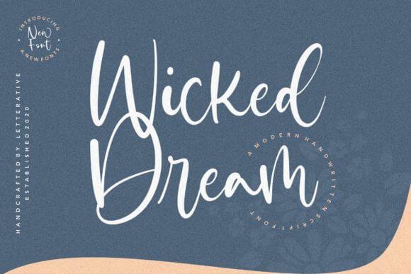 Wicked Dream Script Font