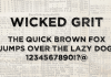 Wicked Grit Font