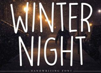 Winter Night Font