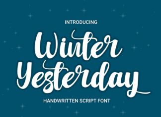 Winter Yesterday Font