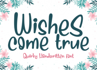 Wishes Come True Font