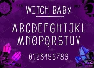 Witch Baby Font