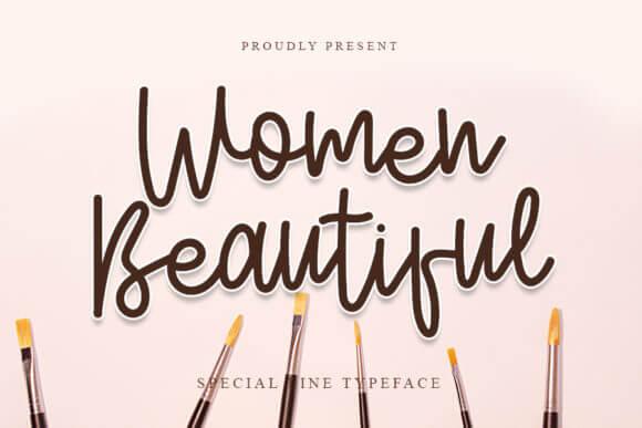 Women Beautiful Font