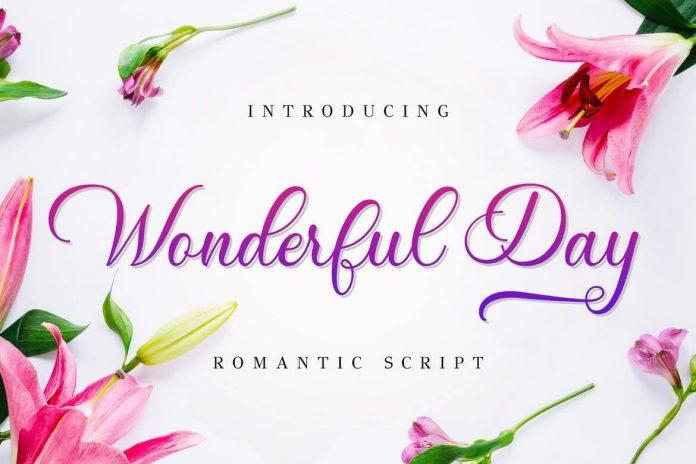 Wonderful Day - Romantic Script