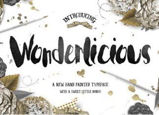 Wonderlicious Typeface Plus Bonus Font