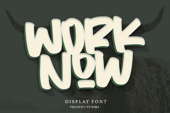 Worknow Display Font