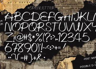 Written Lies Font