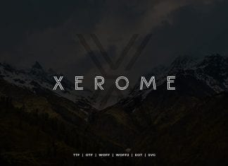 Xerome Font