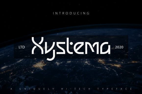 Xystema Font
