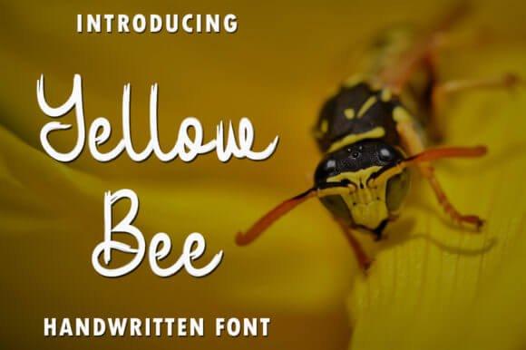 Yellow Bee Font