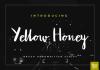 Yellow Honey Font
