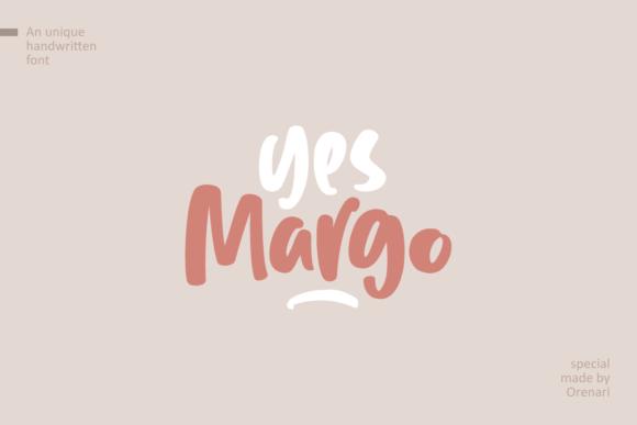 Yes Margo Font