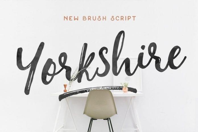 Yorkshire Script Font
