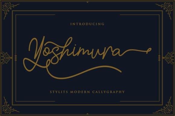 Yoshimura Font