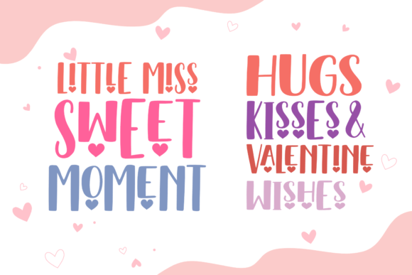 You Are My Valentine Font