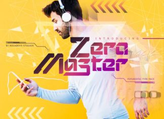 Zero Master Font