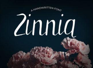 Zinnia Font
