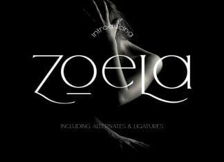 Zoela - Elegant Serif Font