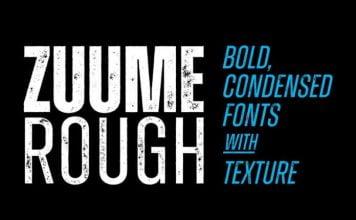 Zuume Rough Font Family
