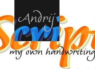 Andrij Script Font