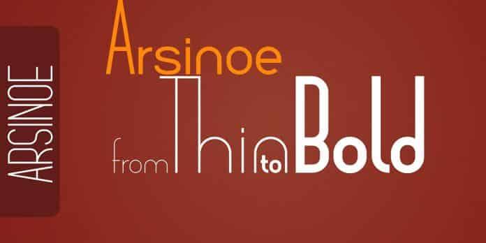 Arsinoe Family Font