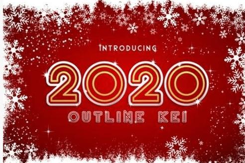 2020 Font