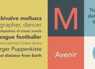 Avenir Pro Font