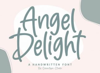 Angel Delight Handwritten Font