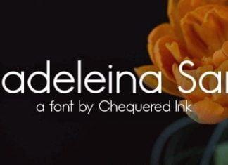 Madeleina Sans Font