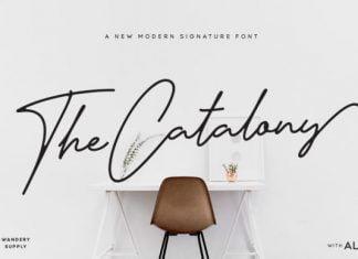 The Catalony Font