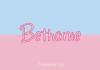 Bethanie Font