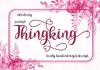 Thingking Font