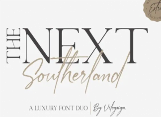 The Next Southerland Font