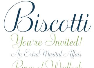 Biscotti Font