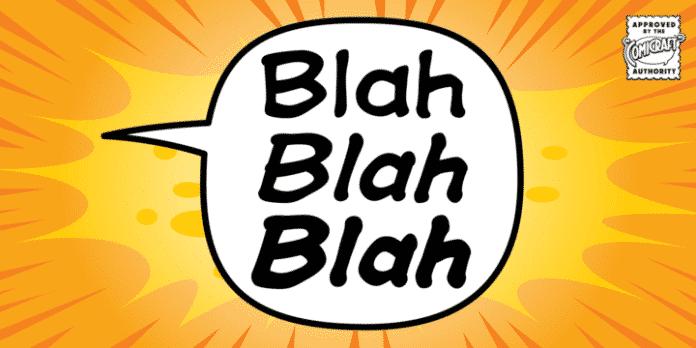 CC Blah Blah Blah Font