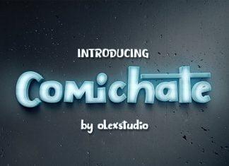 COMICHATE Font