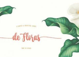 de Floras - Bold Font